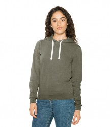 American Apparel Ladies French Terry Garment Dyed Mid-Length Hoodie image