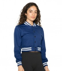 American Apparel Ladies Cropped Club Jacket image