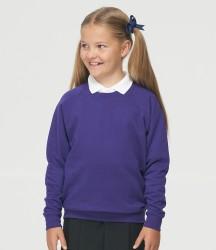 AWDis Academy Kids Raglan Sweatshirt image