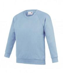 Image 2 of AWDis Academy Kids Raglan Sweatshirt