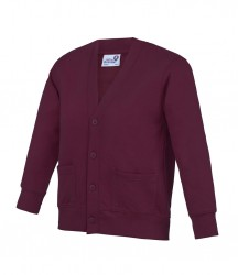 Image 8 of AWDis Academy Kids Sweat Cardigan