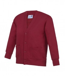 Image 7 of AWDis Academy Kids Sweat Cardigan