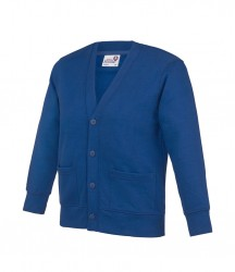 Image 6 of AWDis Academy Kids Sweat Cardigan