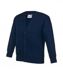 Image 4 of AWDis Academy Kids Sweat Cardigan