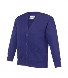 Image 3 of AWDis Academy Kids Sweat Cardigan
