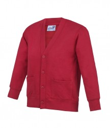 Image 2 of AWDis Academy Kids Sweat Cardigan