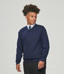 AWDis Academy V Neck Sweatshirt image