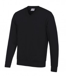 Image 2 of AWDis Academy V Neck Sweatshirt