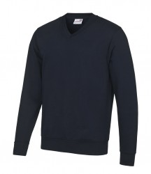 Image 3 of AWDis Academy V Neck Sweatshirt