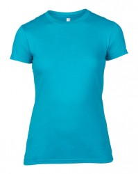 Image 9 of Anvil Ladies Lightweight Fitted T-Shirt