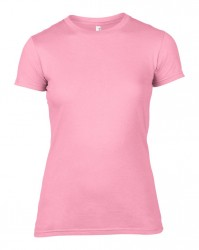 Image 10 of Anvil Ladies Lightweight Fitted T-Shirt
