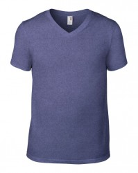 Image 7 of Anvil Lightweight V Neck T-Shirt