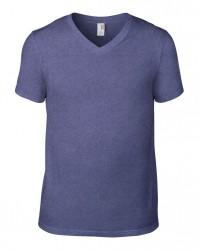 Image 10 of Anvil Lightweight V Neck T-Shirt