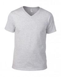 Image 11 of Anvil Lightweight V Neck T-Shirt