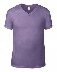 Image 8 of Anvil Lightweight V Neck T-Shirt