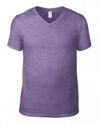 Image 12 of Anvil Lightweight V Neck T-Shirt