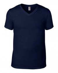 Image 10 of Anvil Lightweight V Neck T-Shirt