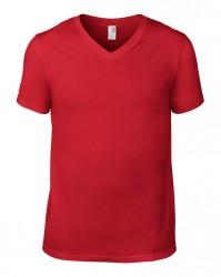 Image 14 of Anvil Lightweight V Neck T-Shirt