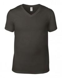 Image 5 of Anvil Lightweight V Neck T-Shirt
