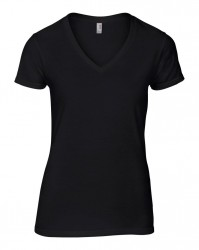 Anvil Ladies Lightweight V Neck T-Shirt image