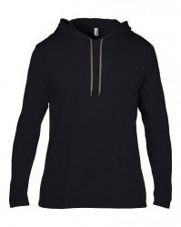 Anvil Lightweight Long Sleeve Hooded T-Shirt image