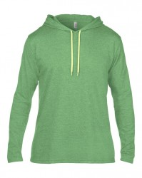 Image 13 of Anvil Lightweight Long Sleeve Hooded T-Shirt