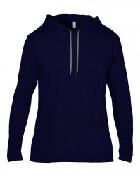 Image 11 of Anvil Lightweight Long Sleeve Hooded T-Shirt