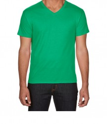 Image 6 of Anvil Featherweight V Neck T-Shirt
