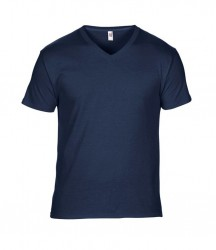 Image 5 of Anvil Featherweight V Neck T-Shirt
