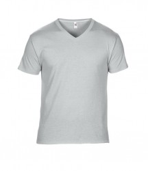 Image 3 of Anvil Featherweight V Neck T-Shirt