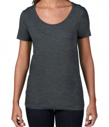 Image 9 of Anvil Ladies Featherweight Scoop Neck T-Shirt