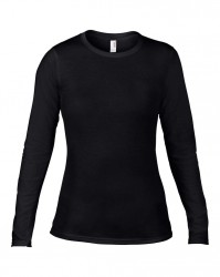 Anvil Ladies Fashion Basic Long Sleeve Fitted T-Shirt image