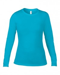 Image 10 of Anvil Ladies Fashion Basic Long Sleeve Fitted T-Shirt