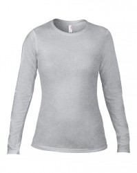 Image 9 of Anvil Ladies Fashion Basic Long Sleeve Fitted T-Shirt