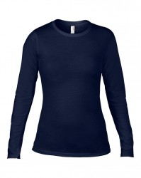 Image 6 of Anvil Ladies Fashion Basic Long Sleeve Fitted T-Shirt
