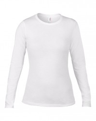 Image 5 of Anvil Ladies Fashion Basic Long Sleeve Fitted T-Shirt