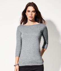 Anvil Ladies Stretch 3/4 Sleeve T-Shirt image