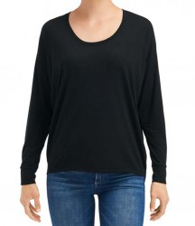 Image 2 of Anvil Ladies Freedom Long Sleeve T-Shirt