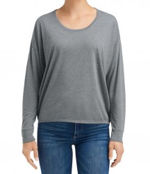 Image 3 of Anvil Ladies Freedom Long Sleeve T-Shirt
