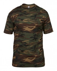 Image 3 of Anvil Camouflage T-Shirt