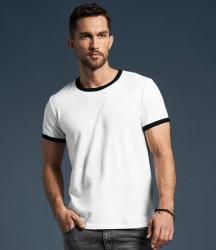 Anvil Lightweight Ringer T-Shirt image