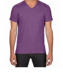 Image 12 of Anvil Tri-Blend V Neck T-Shirt