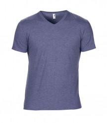 Image 5 of Anvil Tri-Blend V Neck T-Shirt