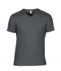 Image 6 of Anvil Tri-Blend V Neck T-Shirt