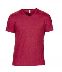 Image 9 of Anvil Tri-Blend V Neck T-Shirt