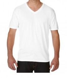 Image 10 of Anvil Tri-Blend V Neck T-Shirt