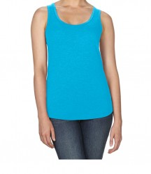 Image 13 of Anvil Ladies Tri-Blend Racer Back Tank