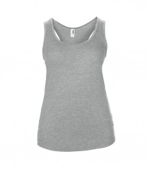 Image 8 of Anvil Ladies Tri-Blend Racer Back Tank
