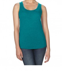 Image 10 of Anvil Ladies Tri-Blend Racer Back Tank