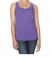 Image 9 of Anvil Ladies Tri-Blend Racer Back Tank